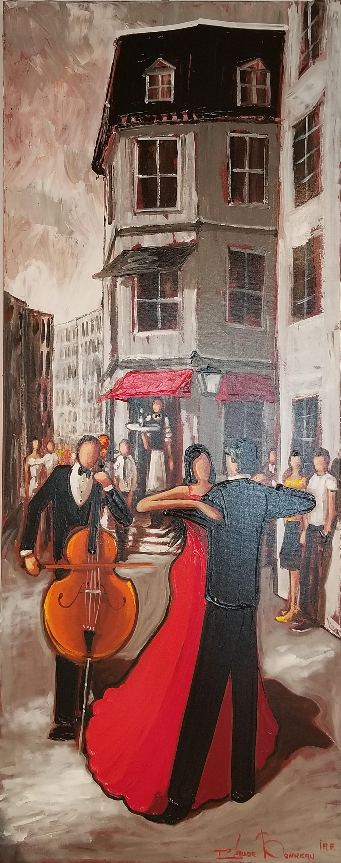Claude Bonneau-Saint-paul en tango
