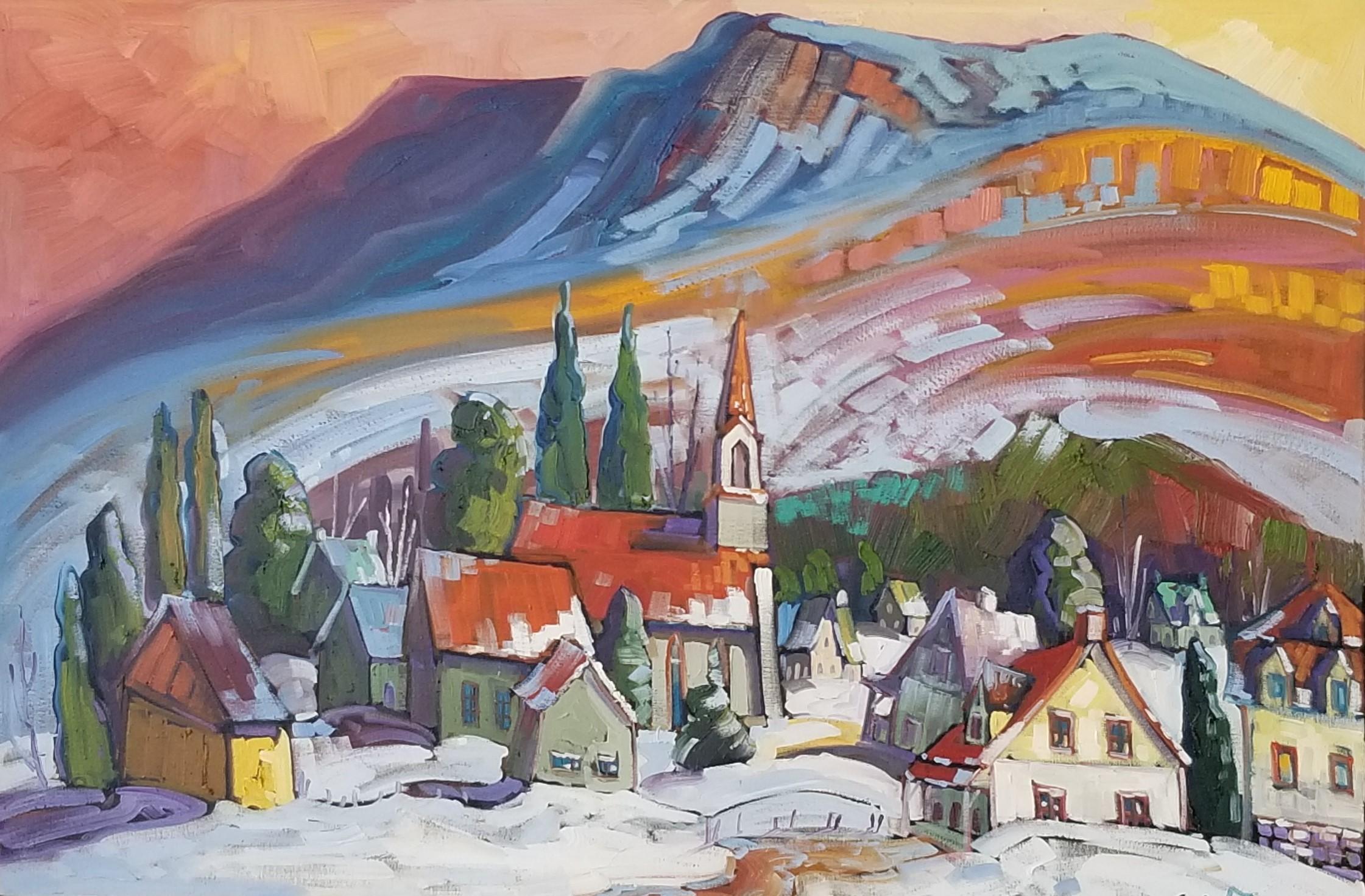 Normand Boisvert-Première neige à petite rivière saint-François