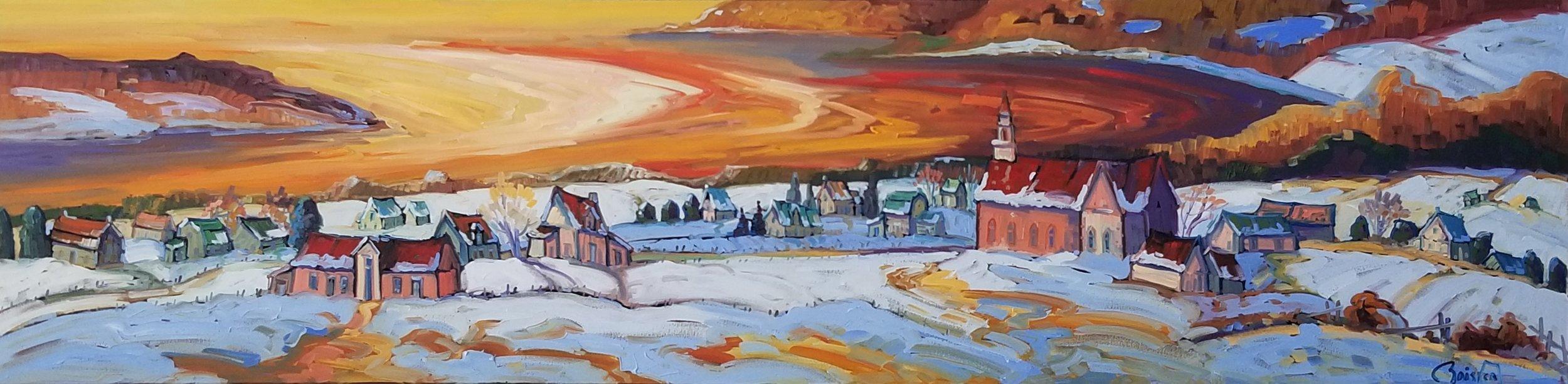 Normand Boisvert-Splandeur des couleurs des éboulements