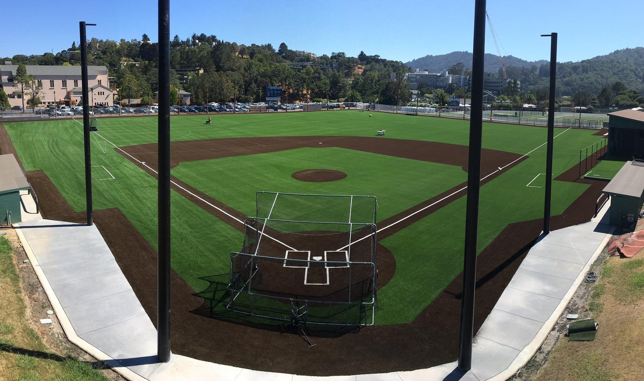 Marin Catholic Baseball Field Baseball Turf