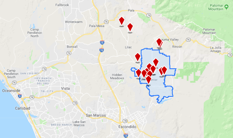 Click here   to explore commercial real estate available in Valley Center, California