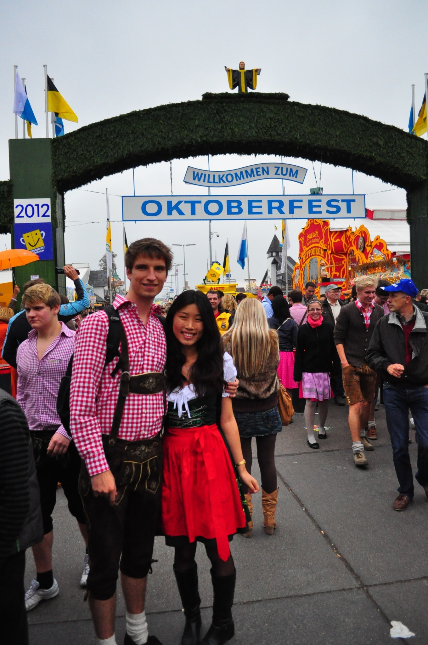 Munich, Germany2012 - After graduation we took our first big trip across Europe, ending with Oktoberfest celebrations in Munich.