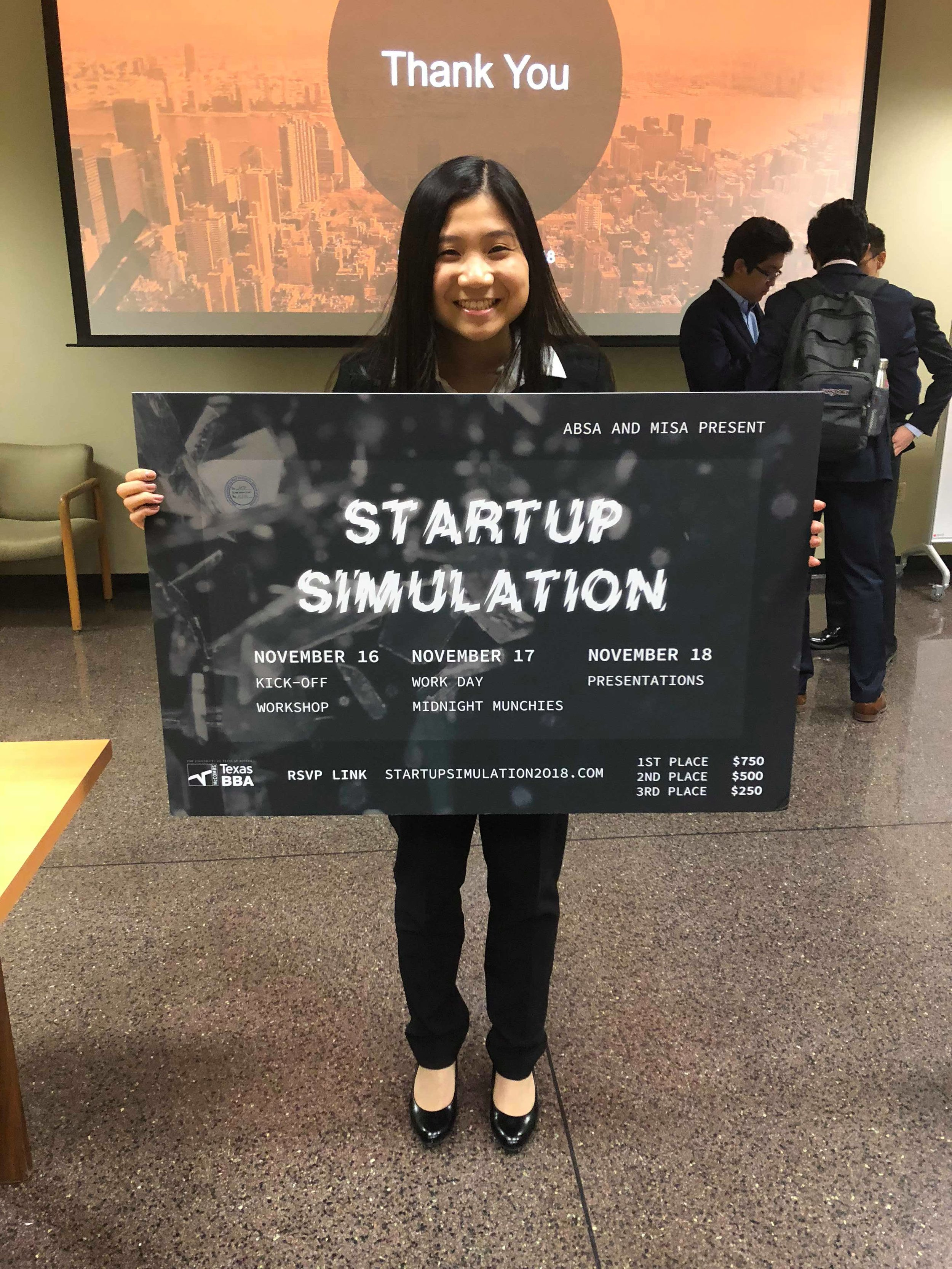 2019 Startup Simulation Competition