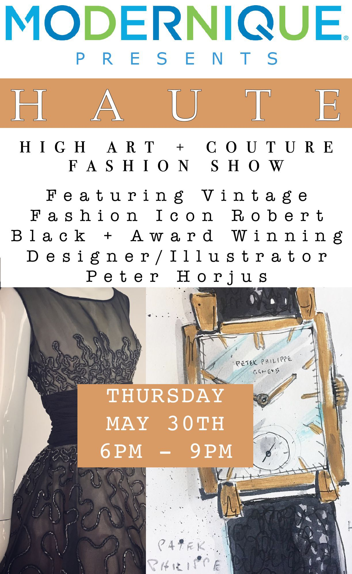 HAUTE - HIGH ART + COUTURE FASHION SHOW