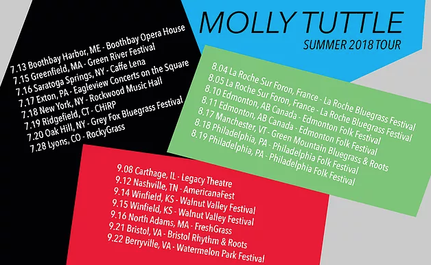 Summer Tour Dates | Molly Tuttle