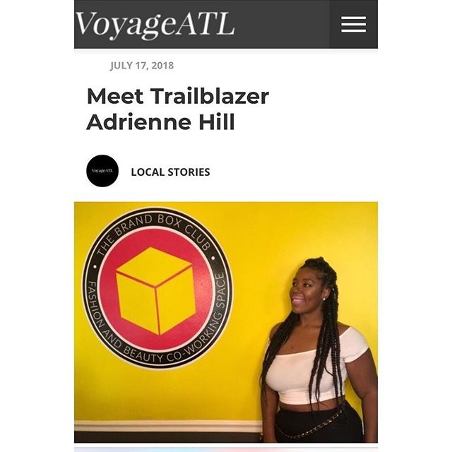 So this happened!! So thankful to be sharing my story amongst other amazing entrepreneurs in the city. Thanks @voyageatl and @voyageatlmag_mike for the amazing opportunity and special thanks to @shikhasingh1303 for the plug 💕Check it out, y'all!! Link in bio!