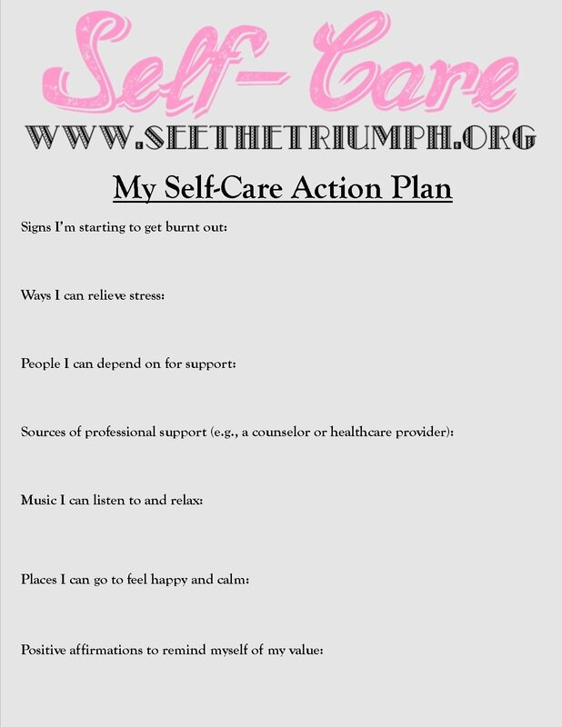 7 Top Self Care PDF Worksheets for Adults for Good Mental ...