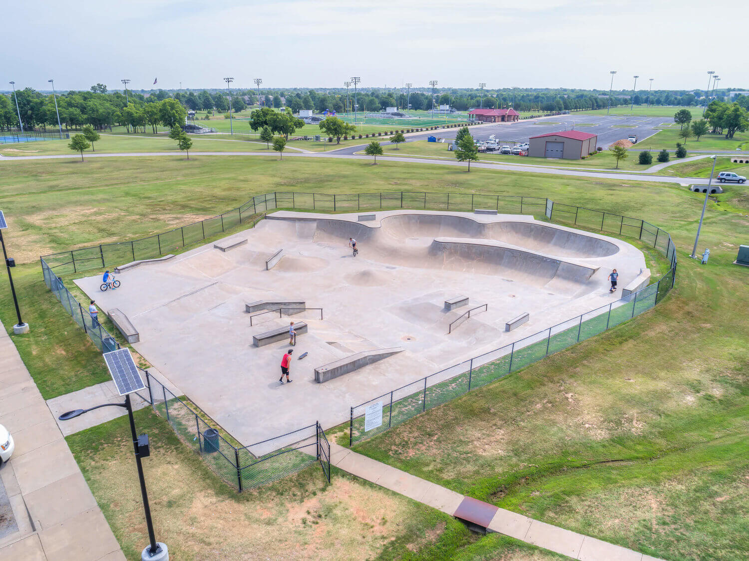 Nienhuis Skate Park   Broken Arrow