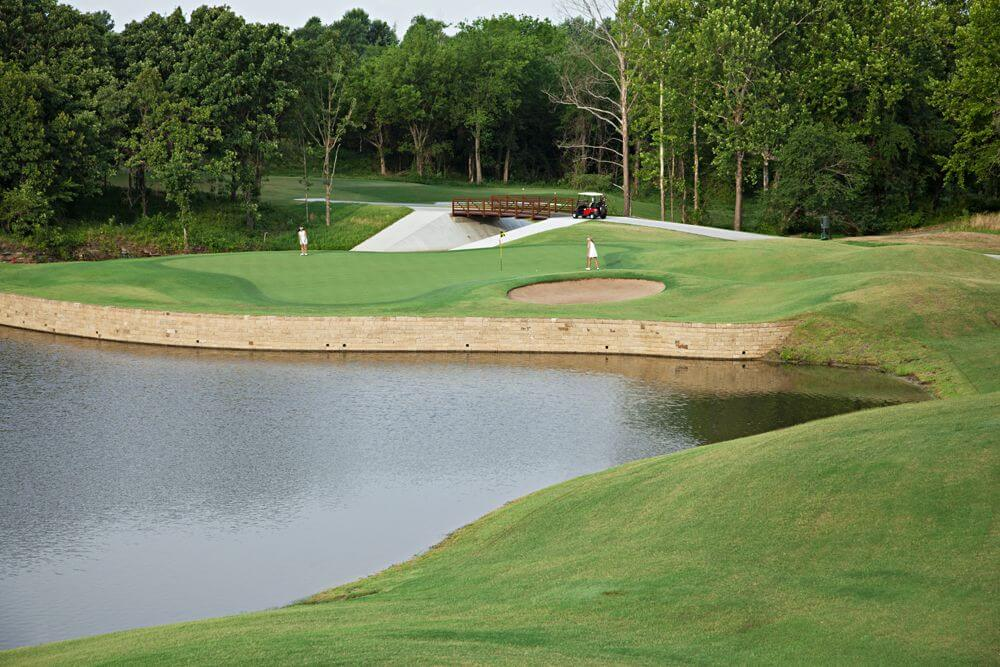 Forest Ridge Golf Course | Hole 15  Broken Arrow