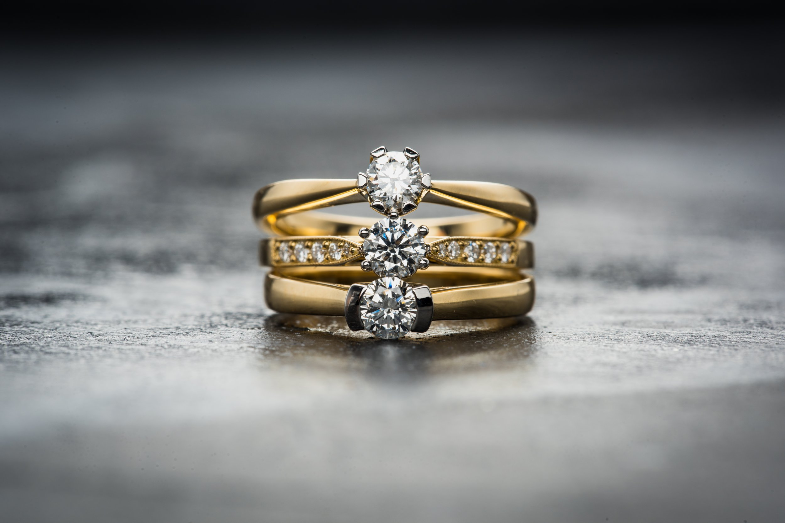 Custom Local Goldsmith - Over the Moon Goldsmith Studio Engagement Wedding & GiftsKelly Marie Kinser-Artist-Goldsmith-Owner www.overthemoon.studio 319.975.1088 hello@overthemoon.studio