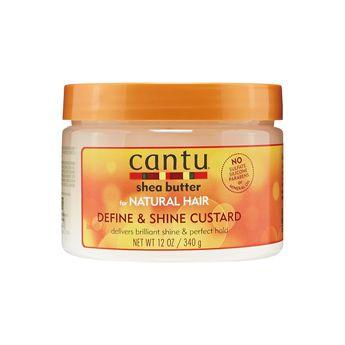 Cantu Shea Butter for Natural Hair Define and Shine Custard