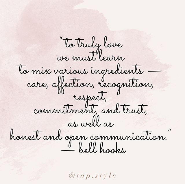 "🌸💕""To truly love we must learn to mix various ingredients — care, affection, recognition, respect, commitment, and truth, as well as honest and open communication."" — Bell Hooks⠀ ⠀ *******************************************⠀ .⠀ .⠀ .⠀ .⠀ .⠀ .⠀ .⠀ .⠀ .⠀ .⠀ .⠀ .⠀ .⠀ .⠀ .⠀ .⠀ .⠀ .⠀ .⠀ .⠀ #lovequotesforher⠀ #lovequotesforhim⠀ #romancequotes⠀ #lovequotes❤️⠀ #heartquotes⠀ #quotesabouther⠀ #quotestoliveby⠀ #quoteoflife⠀ #amazingquotes⠀ #quotestoinspire⠀ #heartquotes⠀ #igquote⠀ #loveposts⠀ #lovegoals⠀ #couplequotes⠀ #lovecouple⠀ #fallinginlove⠀ #fallinginlovewithyou⠀ #fallinlove⠀ #beautifullove⠀ #inlovewithhim⠀ #inlovewithher⠀ #blacklovebible⠀ #youandmeforever⠀ #africanamericanliterature⠀ #loveislove⠀ #blacklovematters⠀ #blackcouplerevolution⠀ #blackloveisreal"