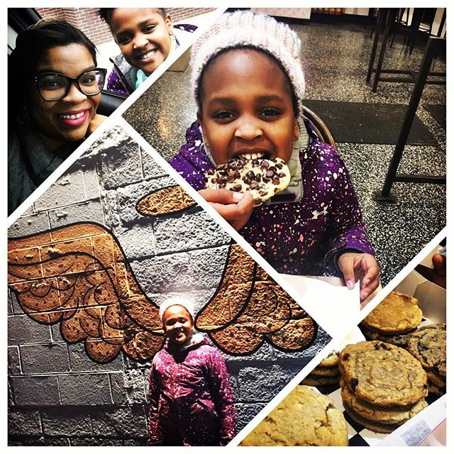 Yesterday we celebrated our first baby's birthday. She thinks about her birthday all year haha, refers to her bday as #her24 & will definitely let you know if she is underwhelmed(about anything). I pray that she keeps that same conviction and excellence ethic all her life.  We got cookie wasted at @detroitcookiecompany; sooo yummy!  Time moves wayyyy fast, y'all!  We spent about an hour in Target trying to choose between Barbies and accessories; my girl is hitting when it comes fashion. Her Barbies have a better look than me🤭. We're putting together a LookBook this weekend😊😊 Happy Birthday Braxton♥️♥️ #moxiedmama #birthdaygirl #decemberbaby #barbie #familytime #momlife #momofgirls #tweenlife #happybirthday #creativekids #cookies
