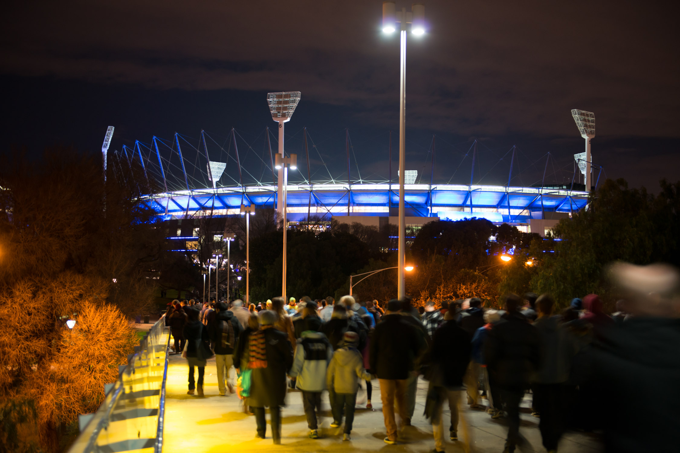Lighting the way: the MCG has cut costs and carbon by converting its lighting to LEDs.