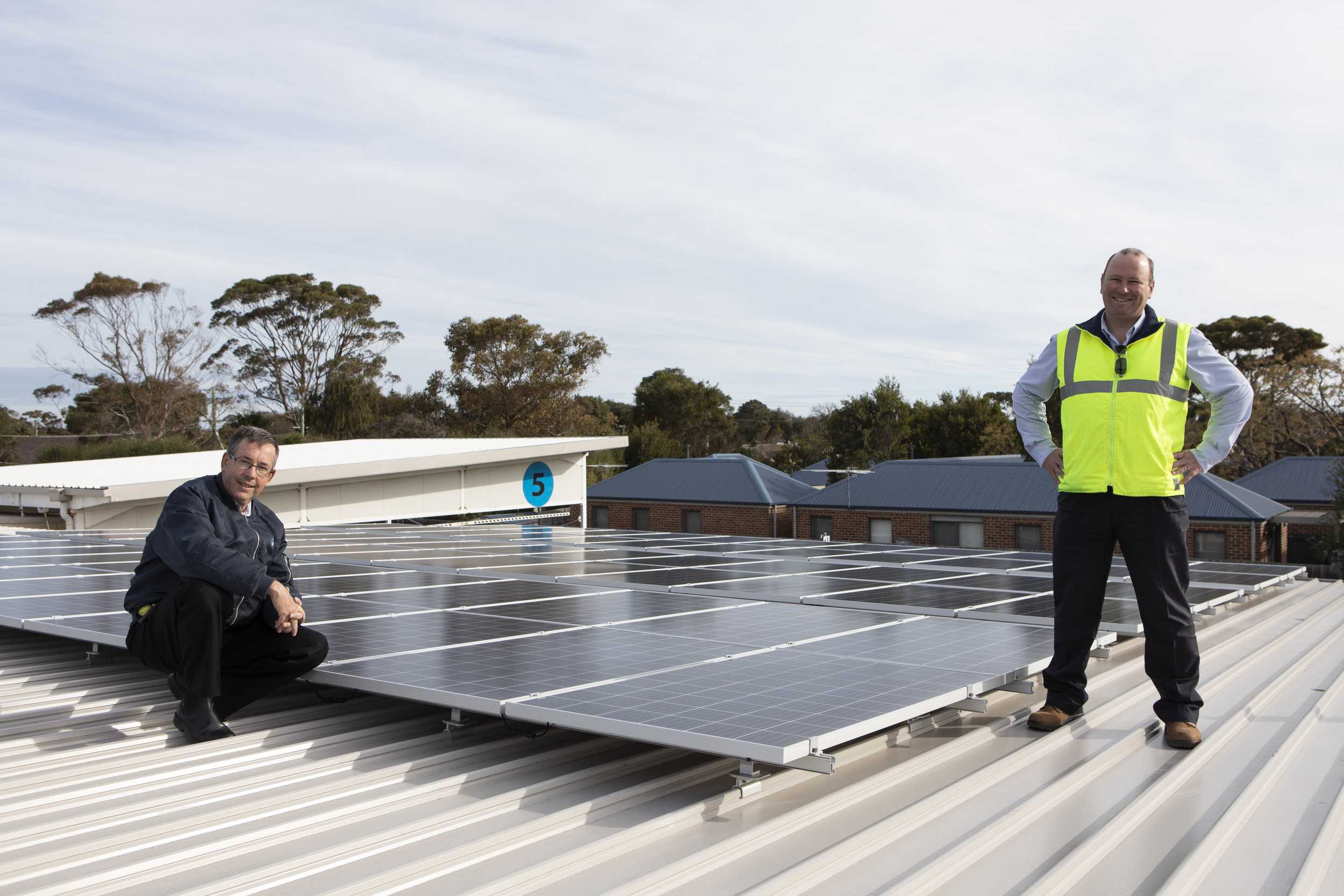 Peninsula Health's Rosebud Hospital has installed solar PV with a grant from the Victorian Government.
