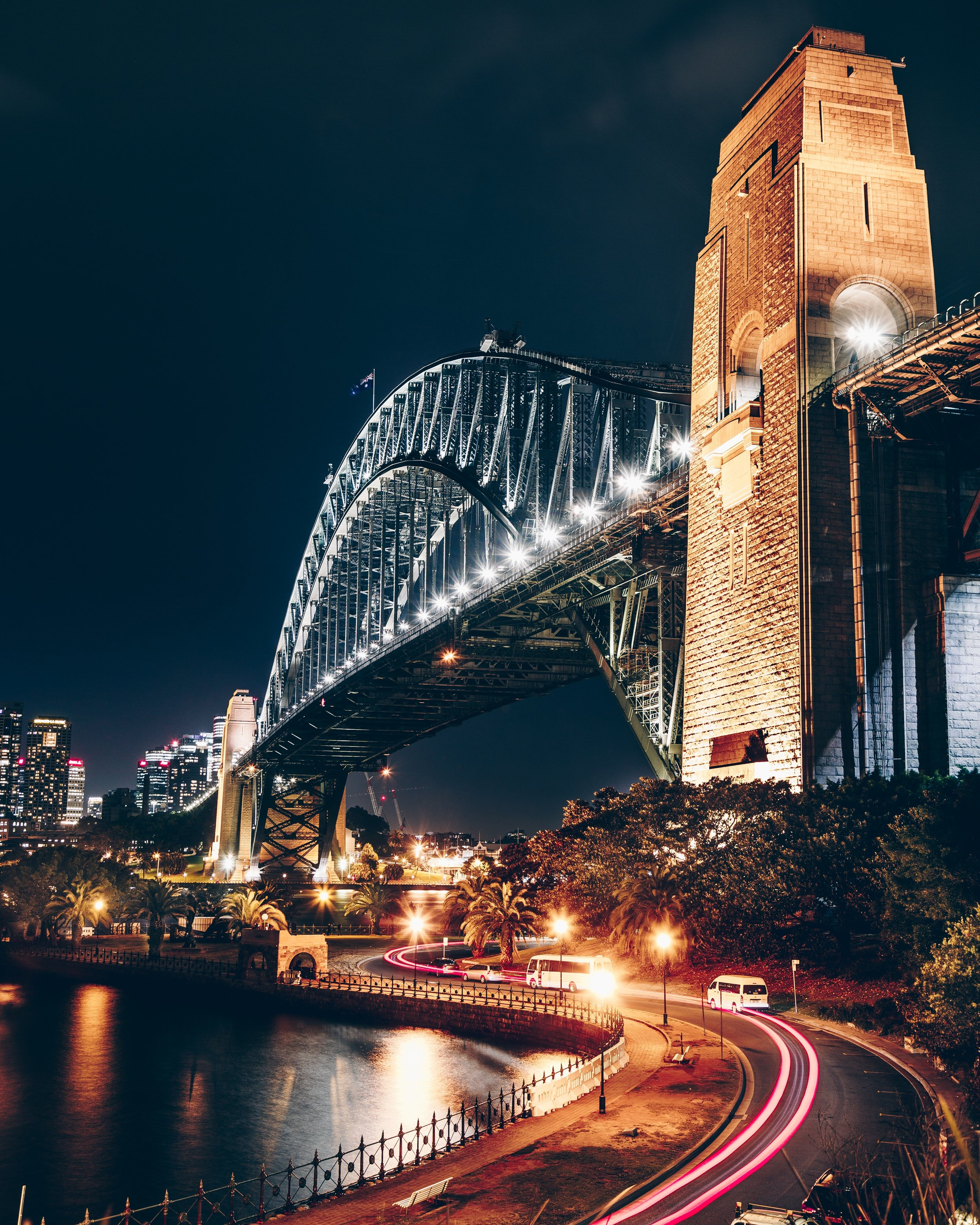 NSW Roads and Maritime Services (RMS) used a grant to fund the replacement of the Sydney Harbour Bridge's lighting with LEDs.