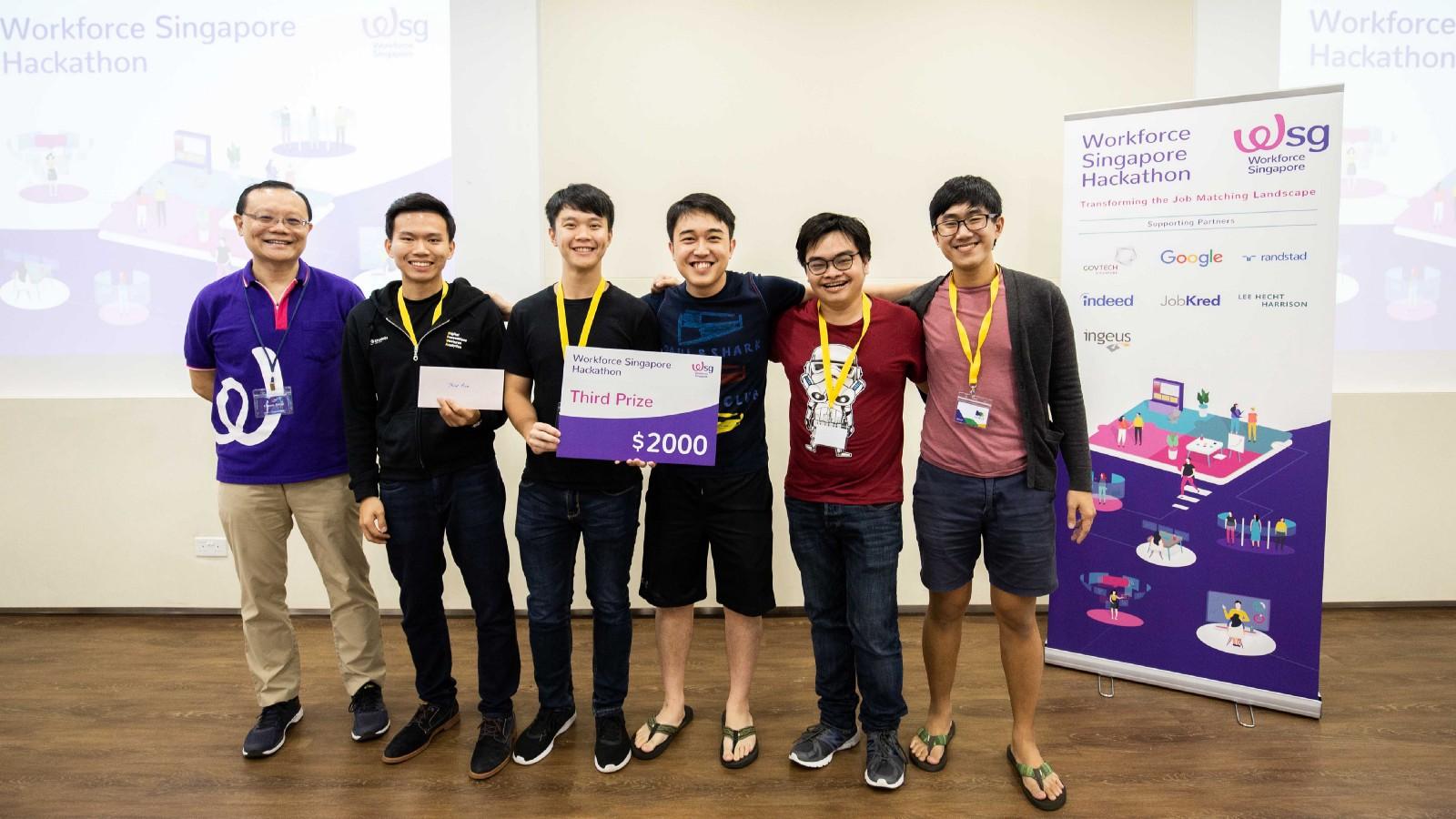 Third Prize Winner,  Team StaffMany