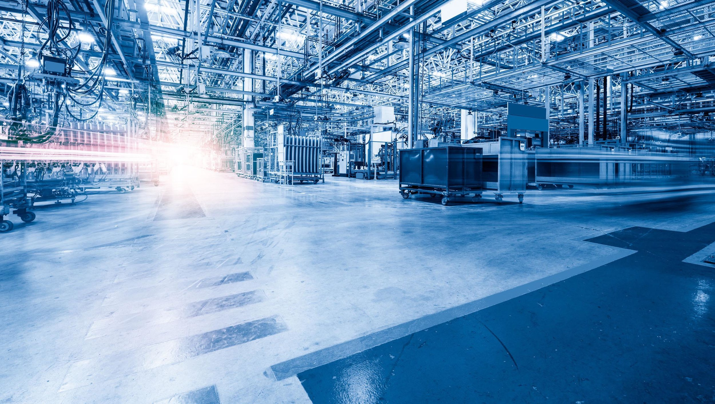 SMART FACTORY: - The smart factory is a flexible system that can autonomously run entire production processes.
