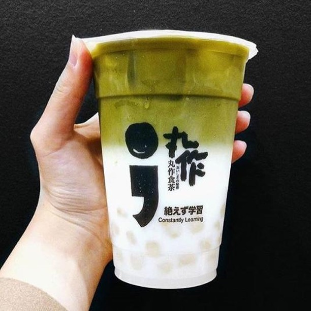 Matcha Latte, anyone? Made with fresh dairy or soy milk 👌☘♻️ Tag your friend who always drinks soy! . . #onezomelbourne #onezo #tapioca #bubbletealover #boba #bobatea #milktea #bubbletea #melbournefoodie #melbourneiloveyou #visitmelbourne #drinksoftheday #instadrink #f52grams #freshlybrewed