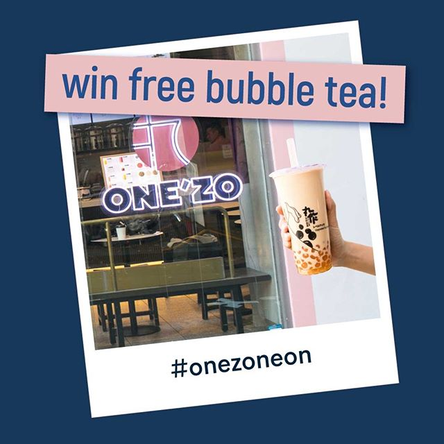 Who wants FREE bubble tea?😉 Introducing our Neon selfie snap competition! Take a selfie with our new neon sign and tag #onezoneon to be in the running for heaps of free bubble tea! 💕😁💸 . . #onezomelbourne #onezo #tapioca #bubbletealover #boba #bobatea #milktea #bubbletea #melbournefoodie #melbourneiloveyou #visitmelbourne #drinksoftheday #instadrink #f52grams #freshlybrewed