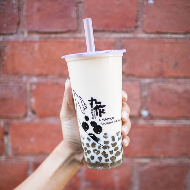 Boba with a crunchy texture!? 🤔🌾 Try our Buckwheat pearls! Handmade with real buckwheat flakes, you get the nutty, rich flavour of wheat with the subtle sweetness of tapioca pearls. Pair it with our Alisan Milk tea and you'll be 😉👌👌 . . #onezomelbourne #onezo #tapioca #bubbletealover #boba #bobatea #milktea #bubbletea #melbournefoodie #melbourneiloveyou #visitmelbourne #drinksoftheday #instadrink #f52grams #freshlybrewed