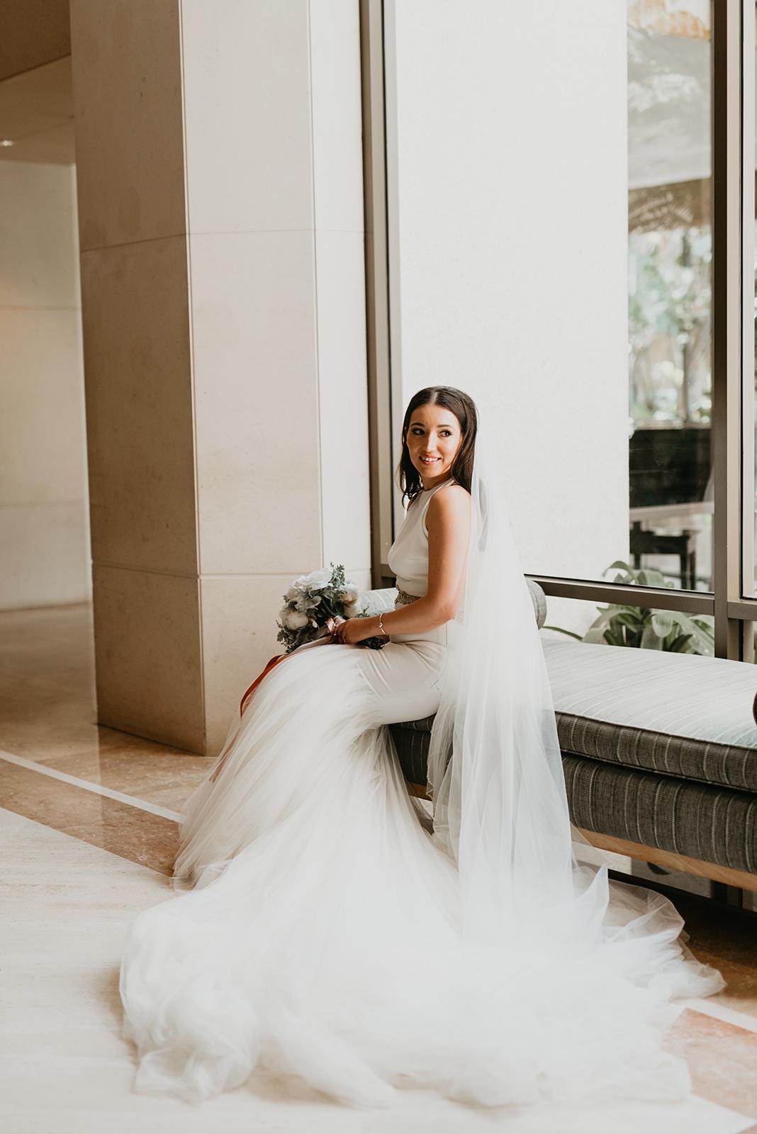 Fashion Valley Wedding - Bride