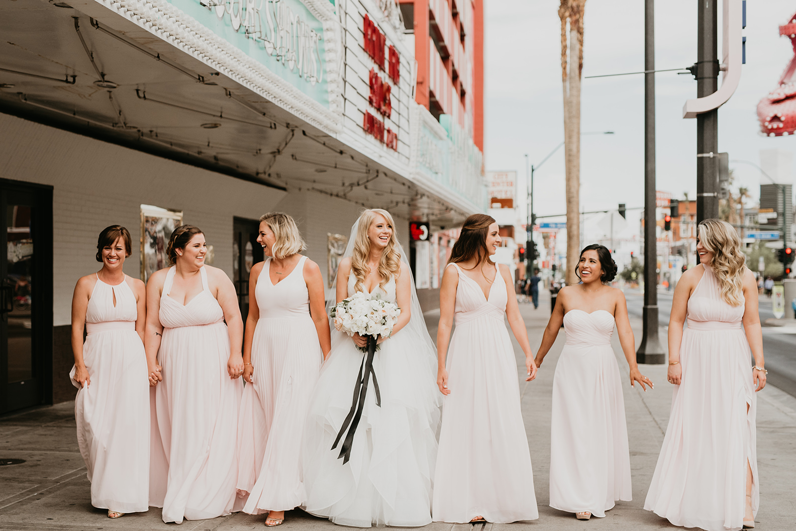 Fragoso Wedding in Las Vegas, NV - Bridal Party