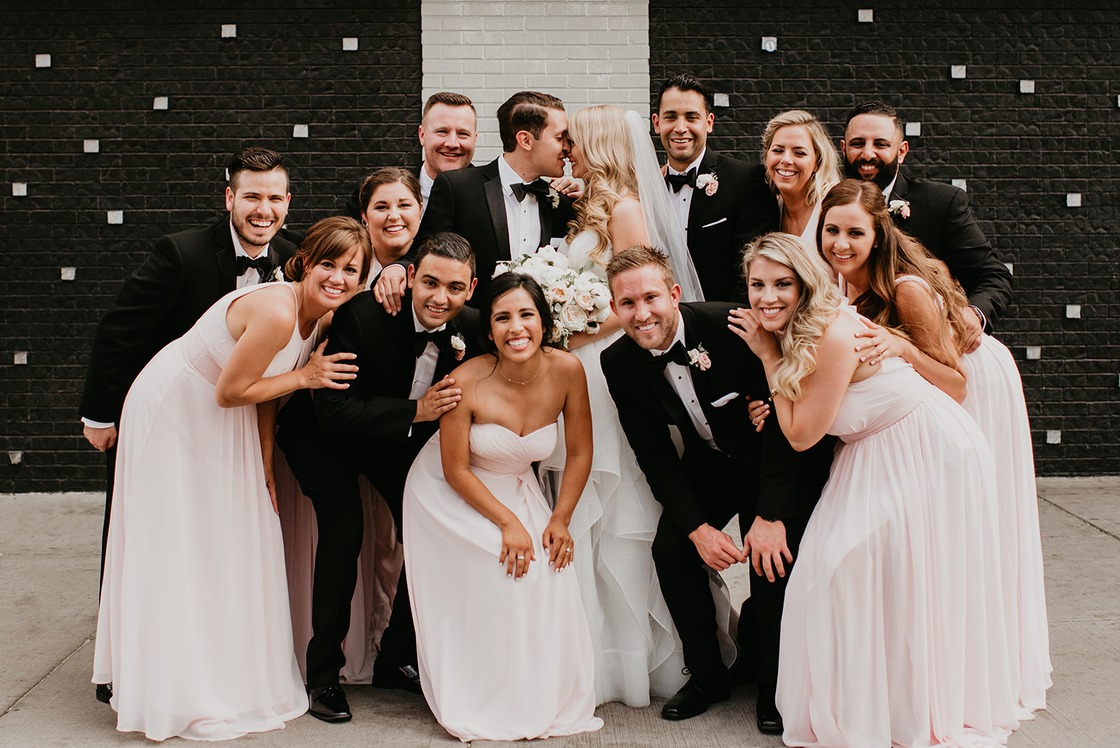 Fragoso Wedding in Downtown Las Vegas, NV - Bridal Party