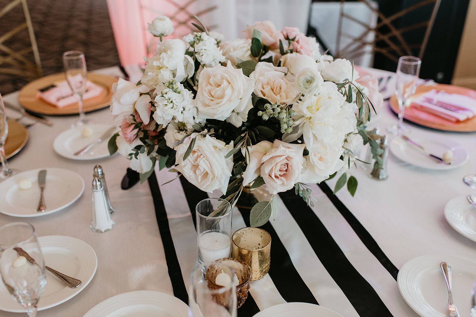 Fragoso Wedding in Las Vegas, NV - Table Decor
