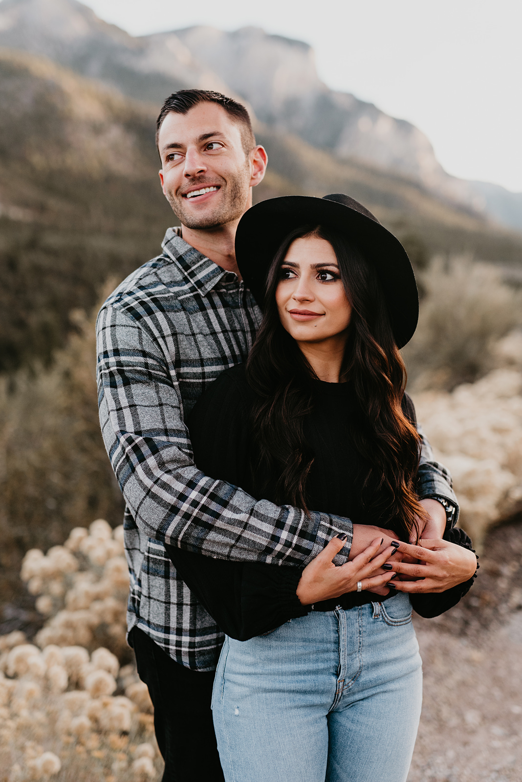Couple Shoot In Mount Charleston