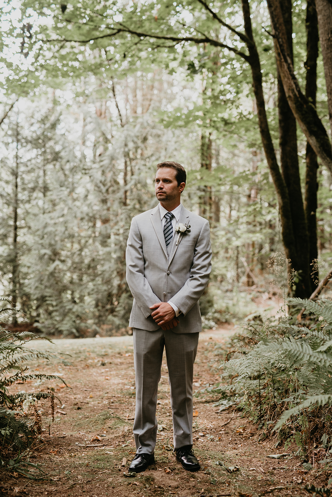 Thompson Wedding in Seattle, Washington - Groom