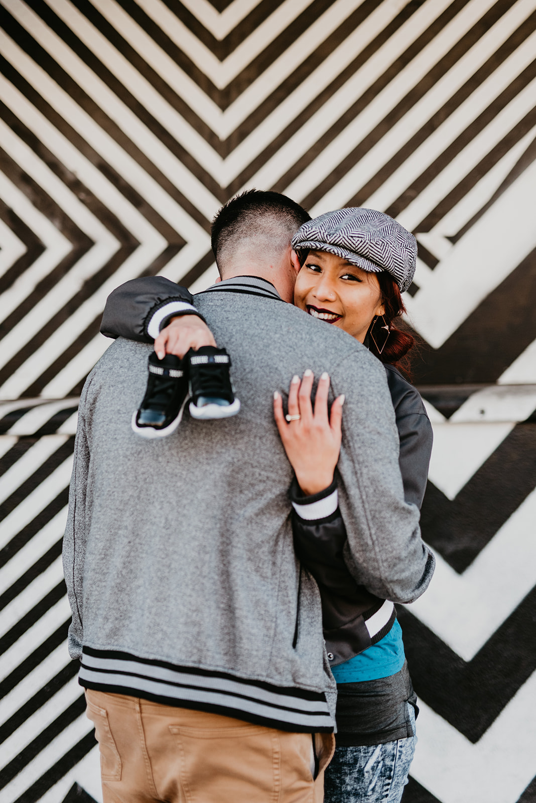 Joey+ Melissa Baby Announcement - Downtown Las Vegas, NV