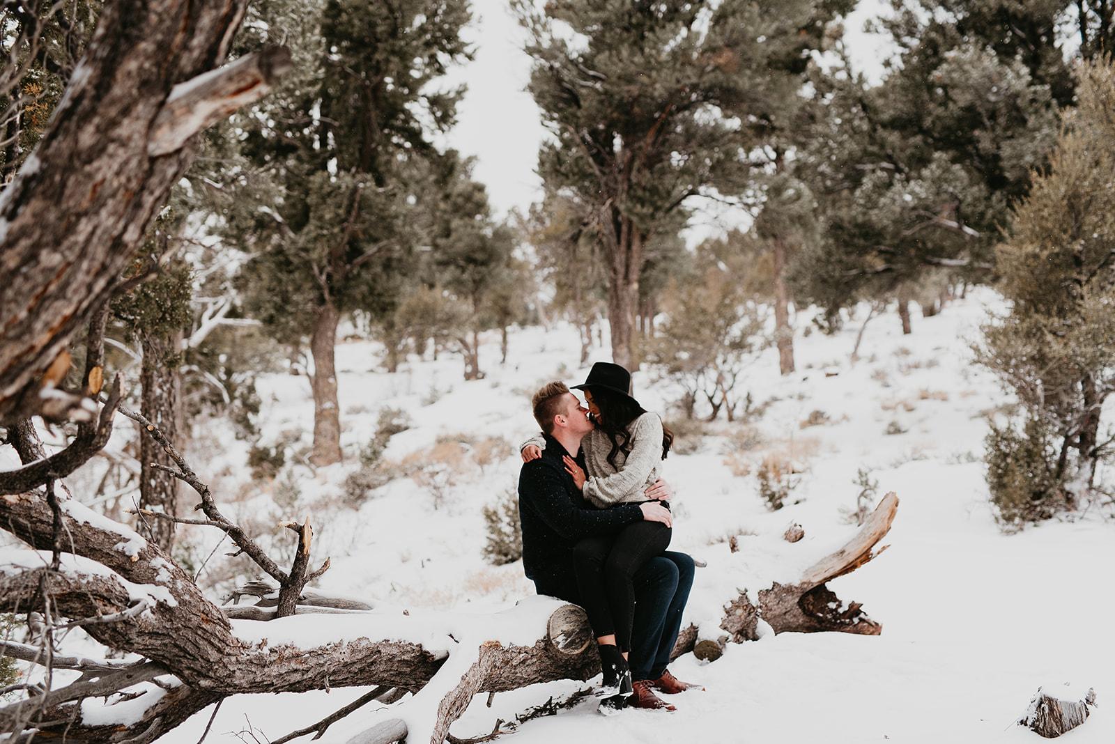 Engagement Shoot - Mount Charleston