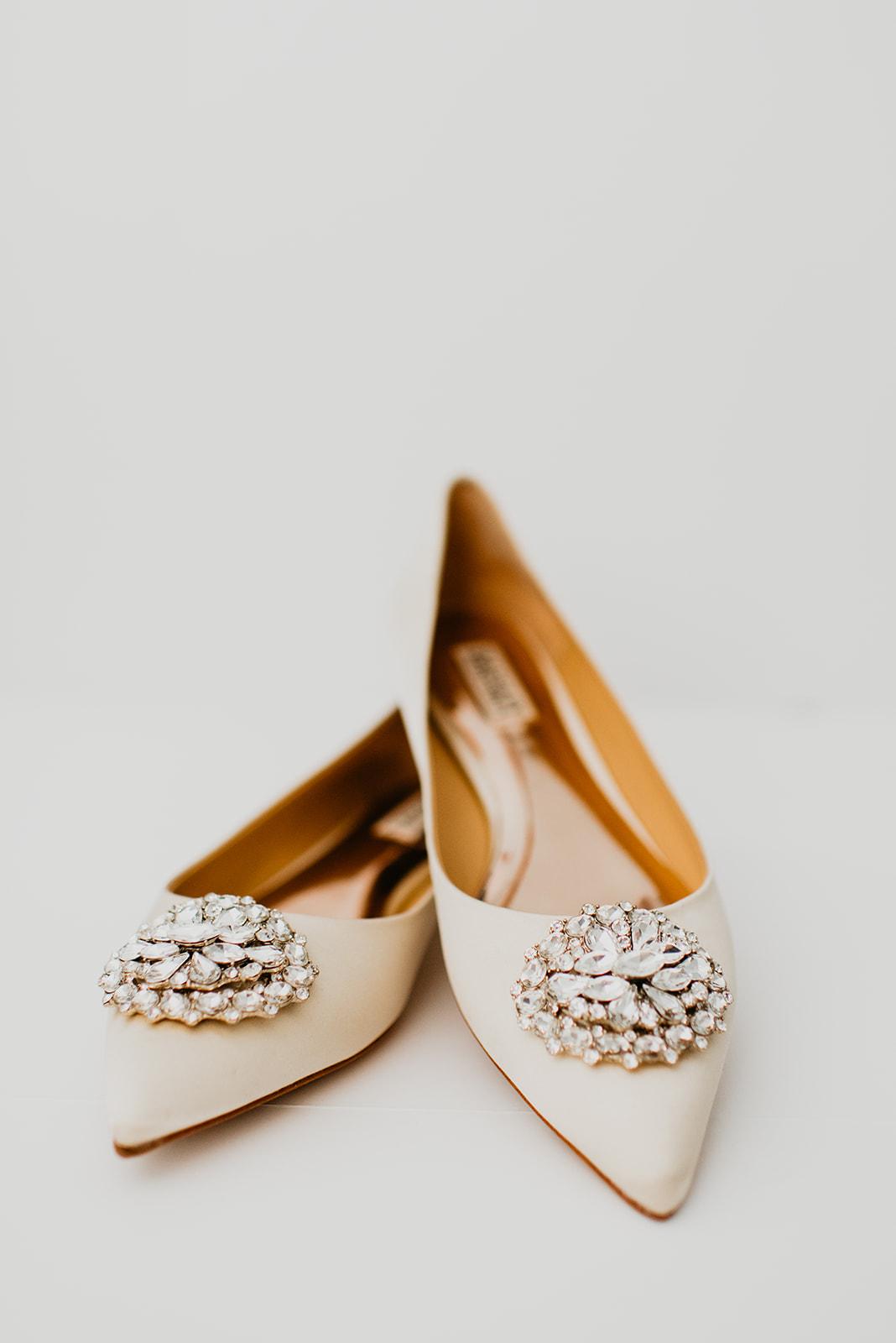 Kinzer Wedding - #BrideShoes