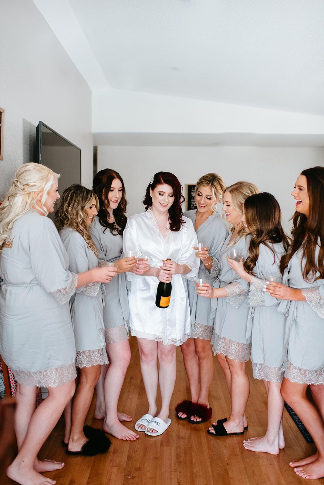 Kinzer Wedding - The Grove, Las Vegas #BridalParty