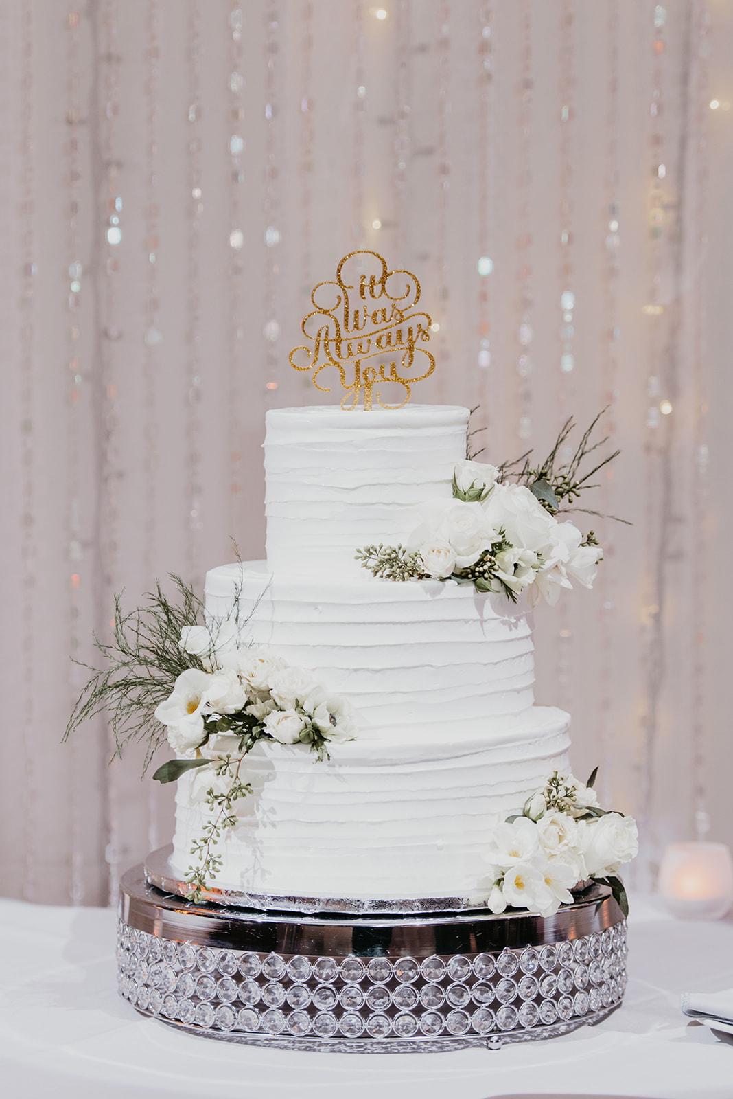 Kinzer Wedding - The Grove, Las Vegas #WeddingCake