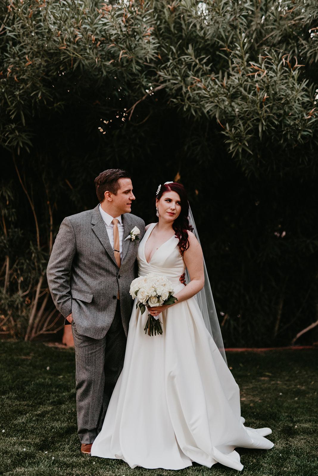 Kinzer Wedding - The Grove, Las Vegas #BrideandGroom