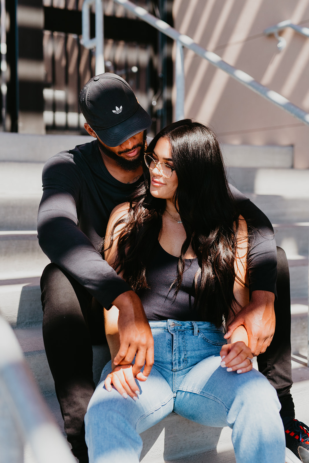 Tausana + Amir Couple Shoot - Las Vegas Baseball Park
