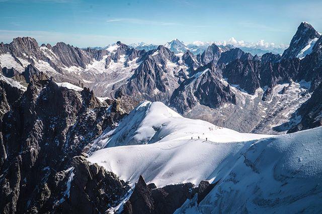 Aiguille du Midi view
