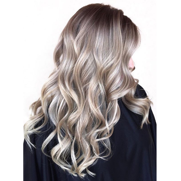Ash Everything - One look we can't help but love in any shade, color, or style, is the ashy toned trend. Somewhere between two colors is definitely where you want to be when the New Year is being rung in.