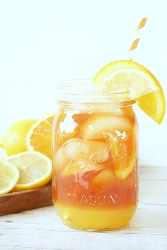 Orange Lemonade Iced Tea