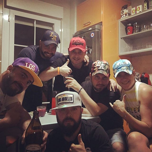 Welcome surprise party!!!! #friends #lamancha #amigos #pelotazo