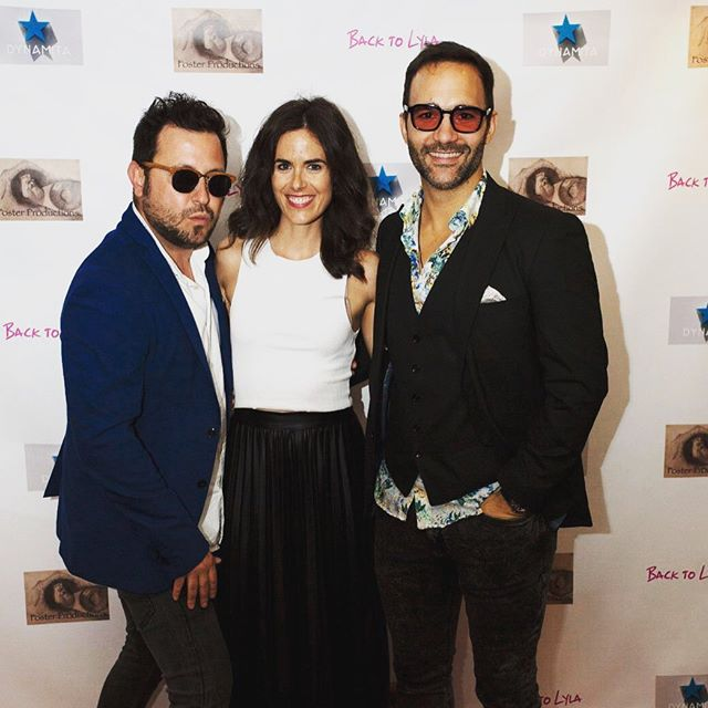 Beautiful people on a wrap party...!!!! @rebecabadia @jesuslloveras @backtolyla #wrapparty #backtolylathemovie #marinadelrey #actors #actorslife #friends #pelotazo