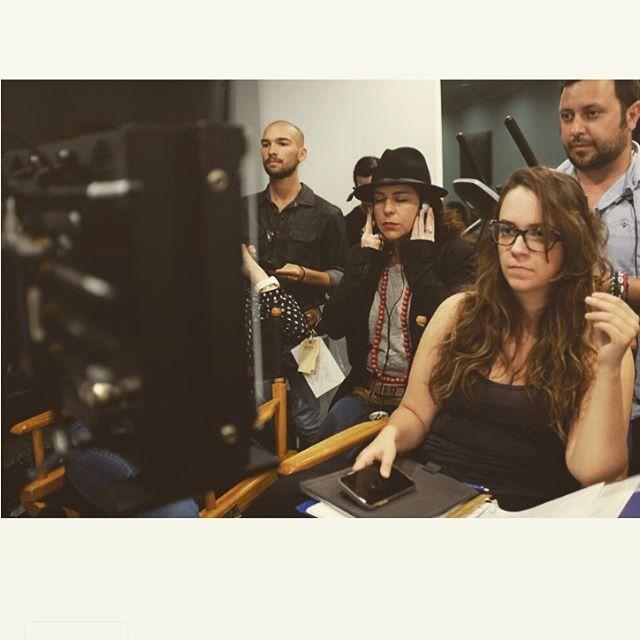 Checking that everything looks good... @backtolyla #shooting #backtolylathemovie #losangeles #la #movie #film #friends #bestteam #producer #thanks #agradecido #emocionado #isaacgallego #pelotazo