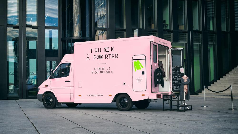 Projektbeispiel | Fashion Truck á Porter — Corporate Design
