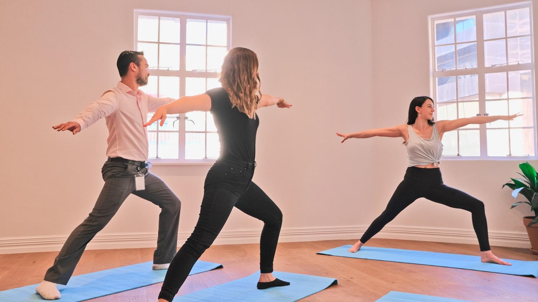 indoor classes -
