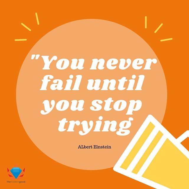 Fall down seven, stand up eight! ⁣ ⁣ It's a new week ahead and you should never stop trying! 😀👍⁣ ⁣ A new week awaits you, hwaiting! ⁣ ⁣ #motivationmonday #thehiddengood #success #trying #opportunities⁣ ⁣