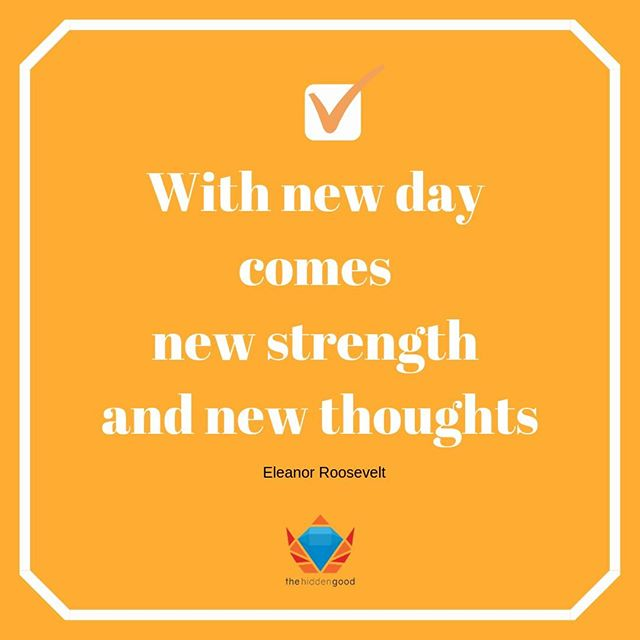 New day, new opportunities, new strength, and thoughts!⁣💪⁣⠀ ⁣⠀ Kickstart your week by filling it up with positive vibes 🌈 Let's do this!⁣⠀ ⁣⠀ #motivationmonday #thehiddengood #strength #positivity