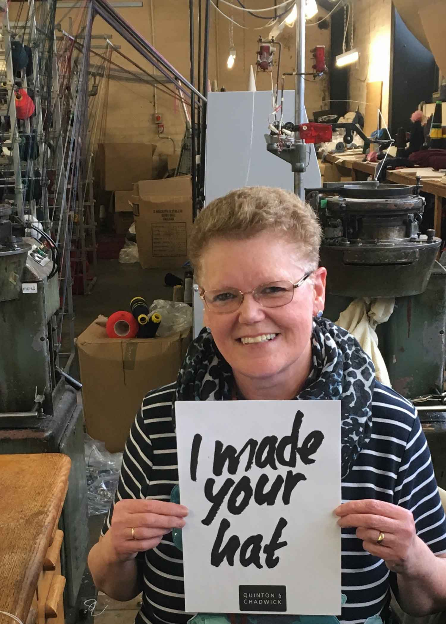 Fashion Revolution.Org - Every year we post photographs of the lovely people who make our products. Inspired by the Fashion Revolution movement which is encouraging people to ask the simple question 'who made my clothes' about what they wear. The Fashion Revolution has pushed the industry to become more transparent. Highlighting the problems of Fast Fashion and helping ensure that workers rights are upheld everywhere.We make everything here in the UK so we are proud to be able to prove not only authenticity of design but of provenance too.