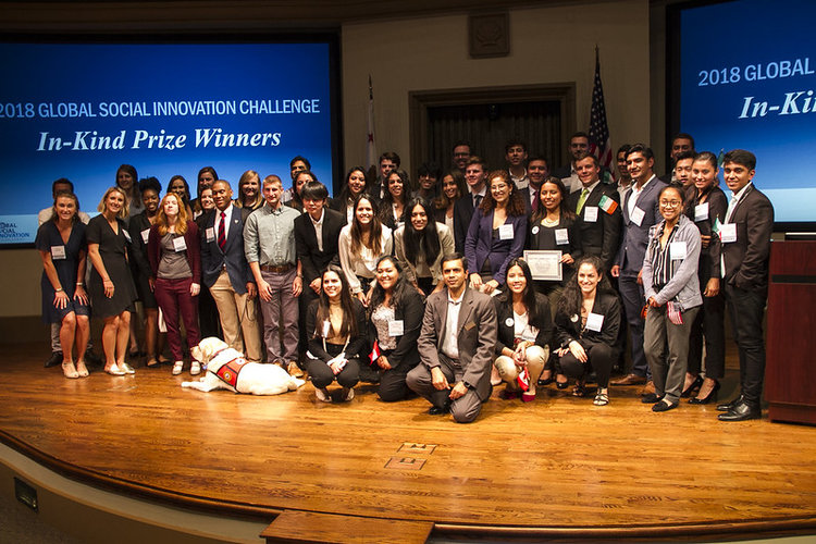USD News Center   Ireland, Ghana, Mexico Entrepreneurs Shine in Global Social Innovation Challenge   KeepAppy first earned a top prize of $2,500 in each of three $5,000 tracks — Women Innovators, Qualcomm Global Impact and Qualcomm ...